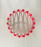 Red people paper chain Royalty Free Stock Photo