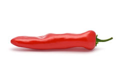 Red Pepper. Isolated on white Stock Photography