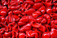 Red pepper. Texture or background stock image