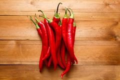 Red Pepper. On Stock Images