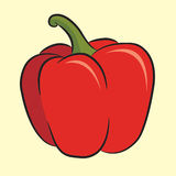 Red pepper Royalty Free Stock Image