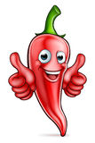 Red Pepper Cartoon Character Royalty Free Stock Photography