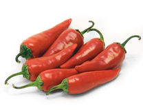 Red pepper  cayenne chili Royalty Free Stock Photo