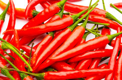 Red pepper close up Stock Images