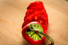 Red pepper Royalty Free Stock Photo