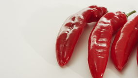 Red pepper, dolly shot stock video footage