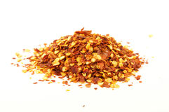 Red pepper flakes Stock Photography