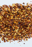 Red pepper flakes Royalty Free Stock Image