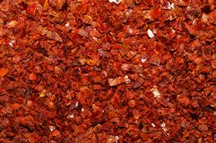 Red Pepper Grind Macro Royalty Free Stock Image