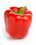 Red Pepper - high-key studio image Royalty Free Stock Photo
