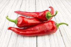 Red pepper isolated Royalty Free Stock Photos