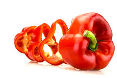 Red pepper. Organic from Sicily Royalty Free Stock Photography