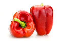 Red pepper. Organic from Sicily Stock Images