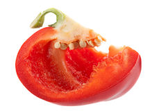 Red pepper part Royalty Free Stock Photography
