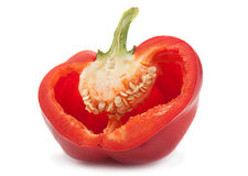 Red pepper part Stock Photos