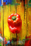 Red pepper photo Stock Photos