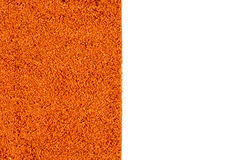 Red pepper powder background Royalty Free Stock Image