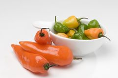 Red pepper, sharp, peppers Royalty Free Stock Photo