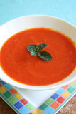 Red Pepper Soup Royalty Free Stock Images