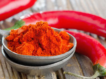 Red pepper spice Stock Photography