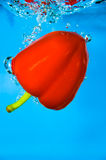 Red Pepper - Vegetable Water Royalty Free Stock Photo