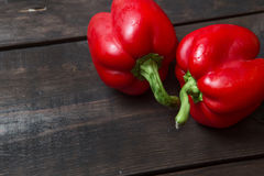 Image result for red pepper on wooden table