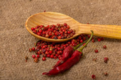 Red peppercorn Stock Image