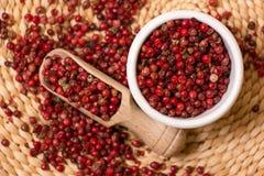 Red peppercorn Stock Photo