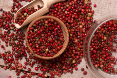 Red peppercorn Stock Photography