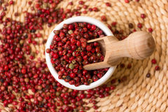 Red peppercorn Royalty Free Stock Photos