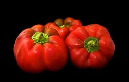 Free Red Peppers 2 Royalty Free Stock Image - 4077426