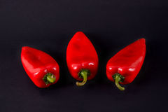 Red peppers. Ajvar Stock Image