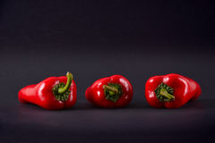 Red peppers. Ajvar Royalty Free Stock Photo