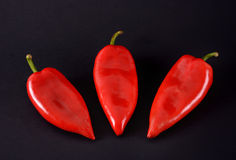 Red peppers. Ajvar Royalty Free Stock Images