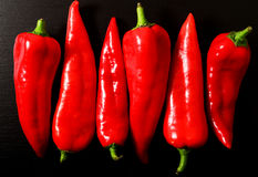 Red Peppers Royalty Free Stock Images