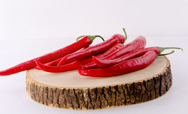 Red peppers. Concept and Decoration royalty free stock images