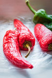 Red peppers Cover Royalty Free Stock Photos