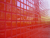 Red perspective. (see more in portfolio Royalty Free Stock Photography