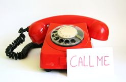 Red phone Royalty Free Stock Images