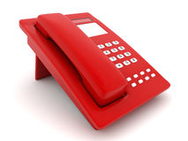 Red phone Stock Photo