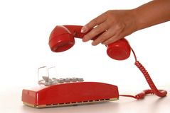 Red Phone 6 stock images