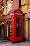 Red Phone booth in London Royalty Free Stock Photography