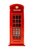 Red Phone booth Royalty Free Stock Image