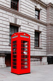 Red phone booths Royalty Free Stock Photo