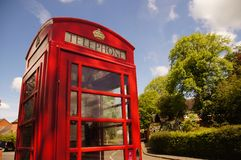 Red Phone Box Royalty Free Stock Images
