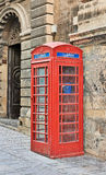 Red phone box in Malta Royalty Free Stock Photos