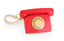 Red phone Stock Photos