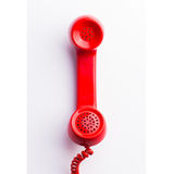 Red phone Royalty Free Stock Image
