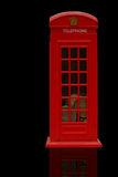Red Phonebooth stock images