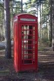 Red phonebox Stock Photo